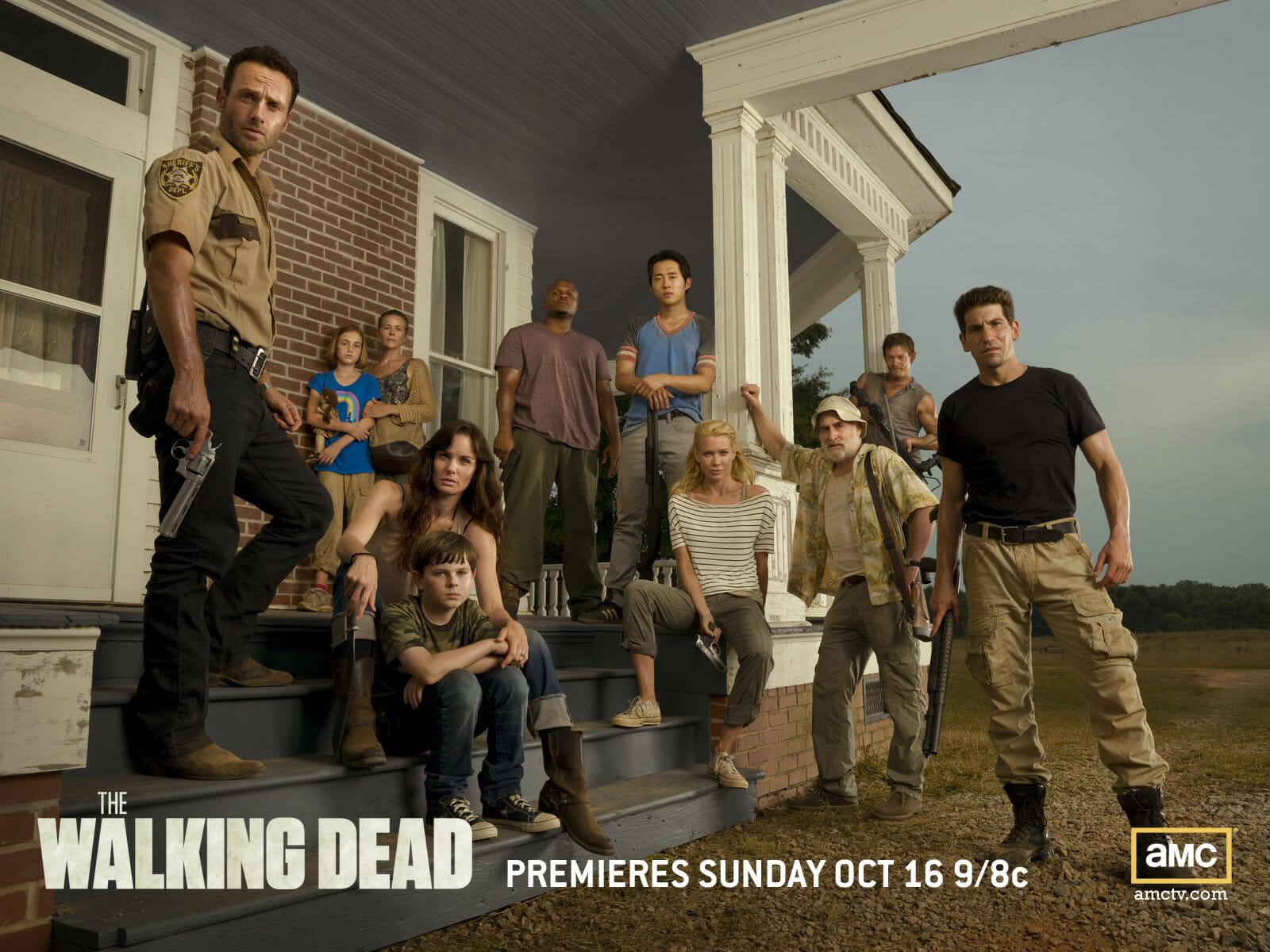 Les héros de The Walking Dead expérimentent la vie à la ferme