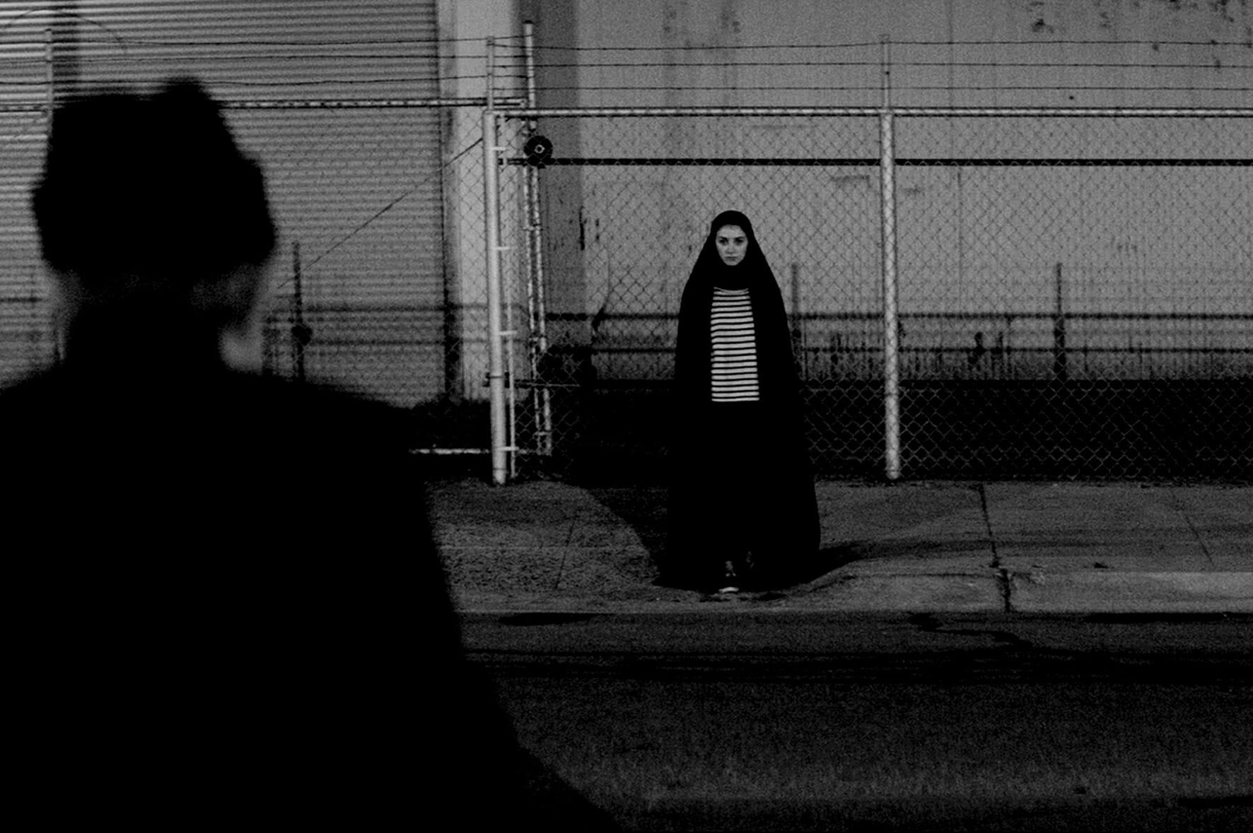 A-girl-walk-home-alone-at-night