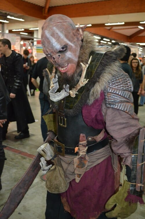 Orc-cosplay