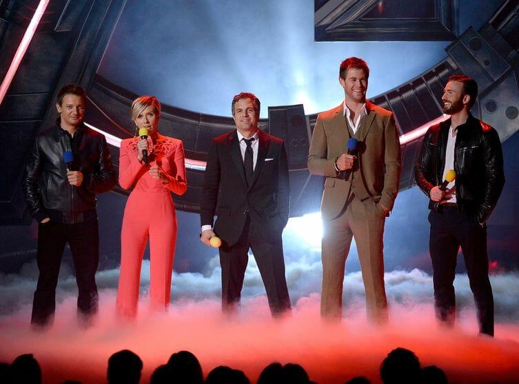 Avengers MTV Movie Awards