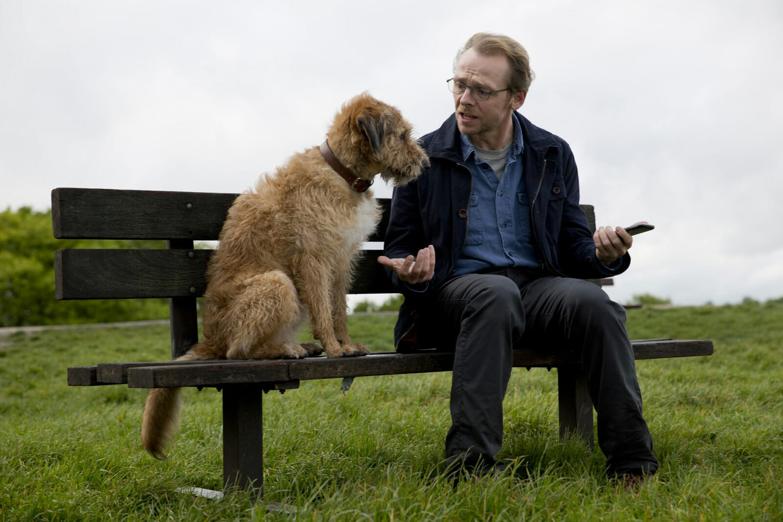 Absolutely-Anything-Simon Pegg-Mojo-the-dog