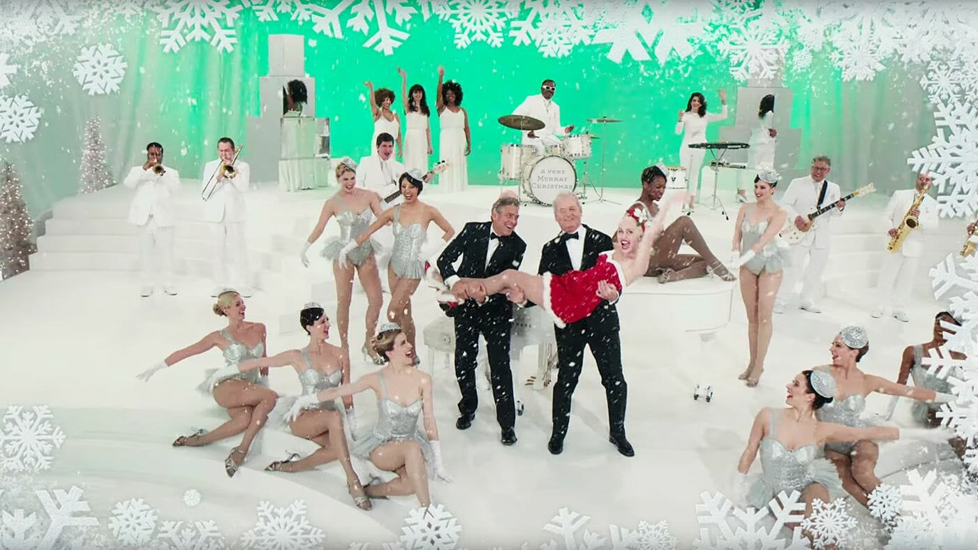 A-Very-Murray-Christmas-Bill-Murray-Miley-Cyrus-George-Clooney