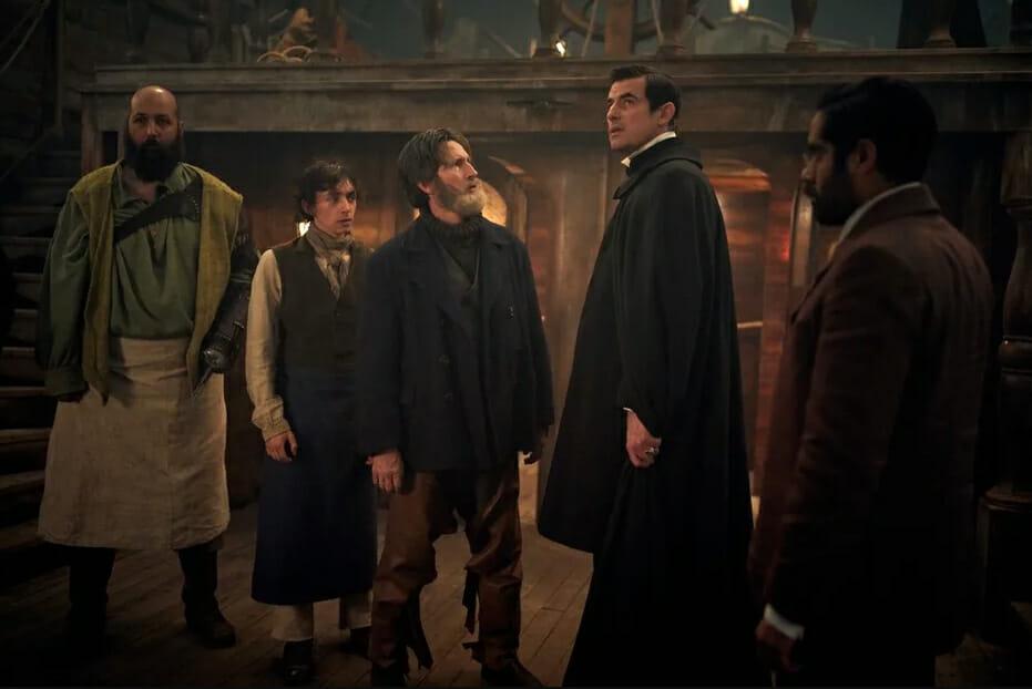 Dracula-cast-BBC